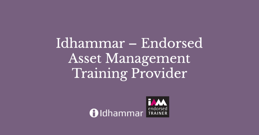 Idhammar – Endorsed Asset Management Training Provider